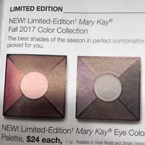 NEW Marykay Eye color palette. Sapphire Noir.